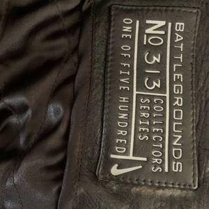 JORDAN size Xl leather Nike jacket #313 of #500